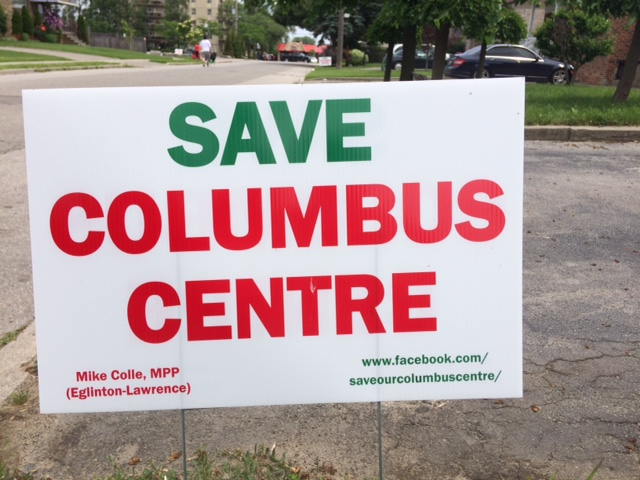 Columbus Centre Redevelopment Plan Sparks Outrage